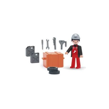 Igráček - automechanik s doplňky