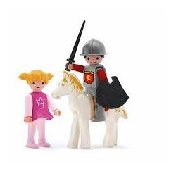Igráček - Princezna, rytíř a bílý kůň