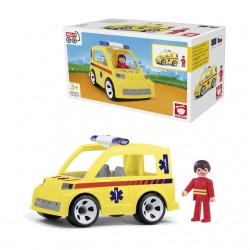 Igráček - Ambulance auto se záchranářem