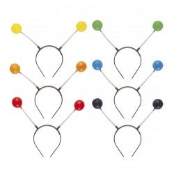 Tykadla - plastová, 6 barev