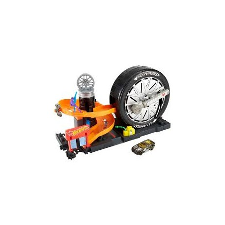 Hot Wheels - city deluxe set pneumatika