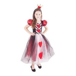 Kostým princezna srdce - velikost L