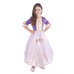 Kostým princezna fialová - velikost M