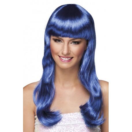 Paruka modrá, dlouhá