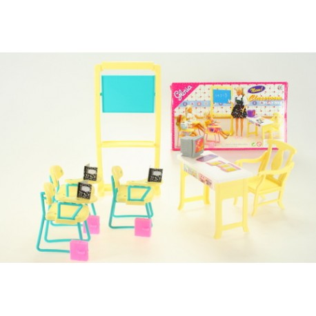 Nábytek pro barbie - škola