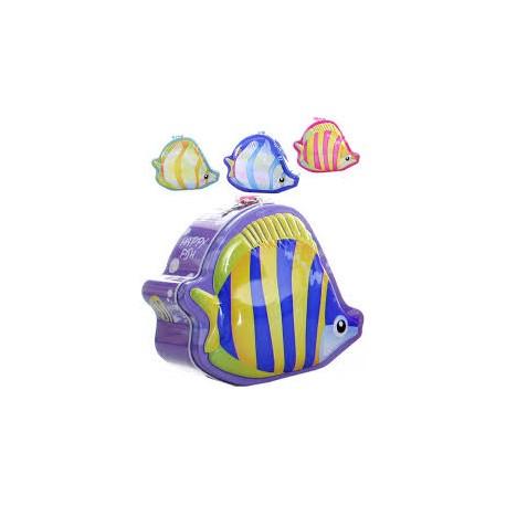 Kasička/Pokladnička ryba - plechová