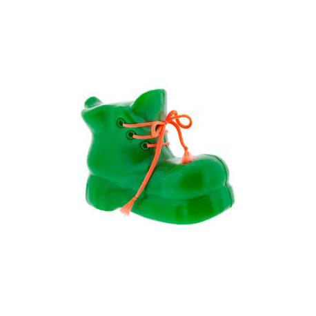 Kasička/pokladnička bota - plastová