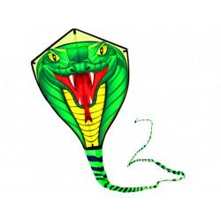 Létající drak had - nylonový