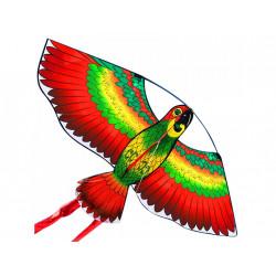 Létající drak papoušek - nylonový