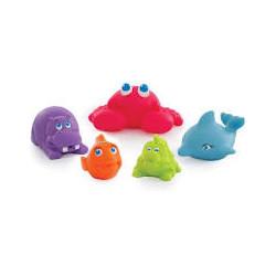 Hračky do vany - Mořská zvířátka, 5 kusů