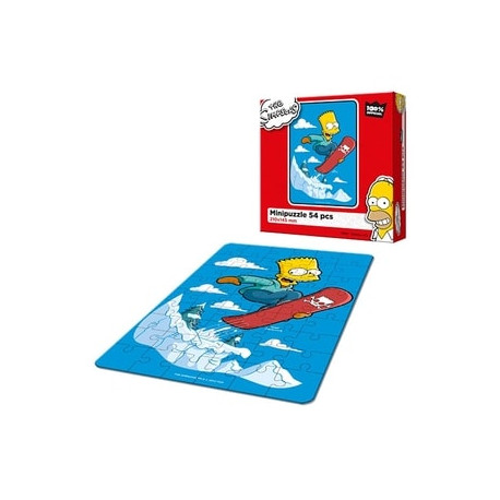 Puzzle The Simpsons - Bart na snowboard
