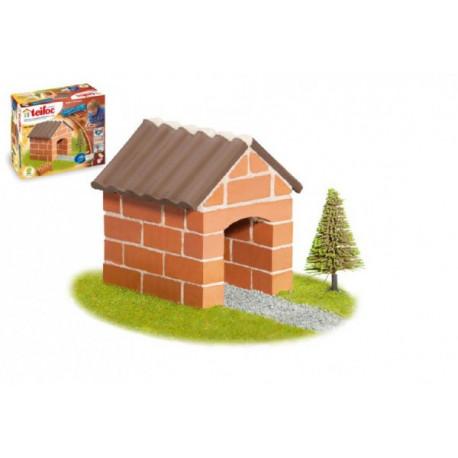 Stavebnice Teifoc Chatka 40ks v krabici