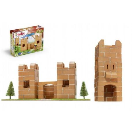 Stavebnice Teifoc Hrádek 120ks v krabici