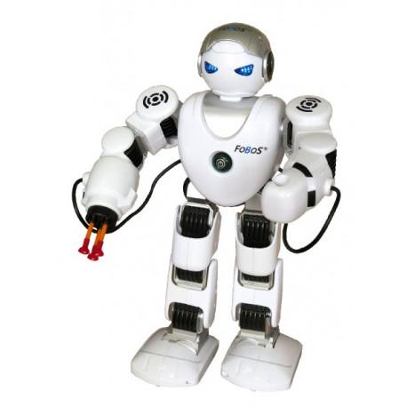 Robot RC FOBOS interaktivní chodící plast 40cm