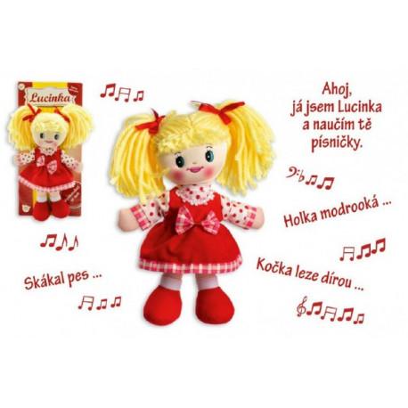 Panenka Lucinka- česky zpívající
