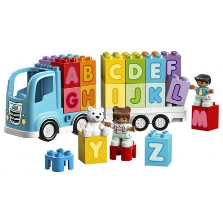 Lego Duplo - Náklaďák s abecedou