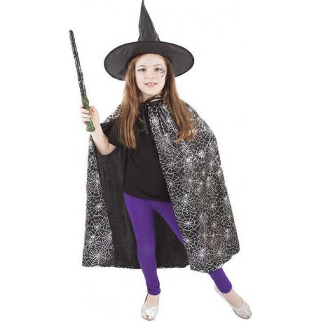 Plášť čarodějnice s kloboukem