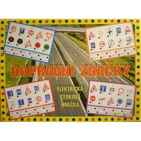 Elektronická hra - Dopravní značky